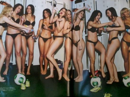 """Goddess of Brazil"" contestants in VIP magazine"