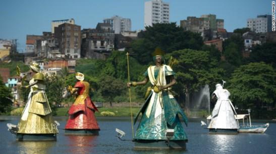 Dique do Tororó in Salvador, Bahia