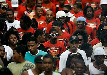 People in the Piedade region of Salvador, Bahia