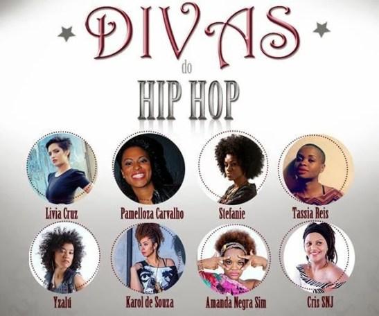 Estúdio Showlivre - Divas Do Hip-Hop