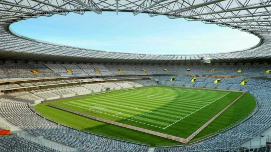 The Mineirão Stadium in Belo Horizonte, Minas Gerais