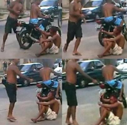 Douglas Idael Pereira Ramos shot and killed Igor de Oliveira Falcão in broad daylight on January 23rd in the Belford Roxo area of Rio de Janeiro