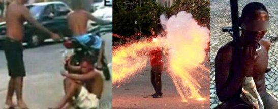Three shocking incidents: one week