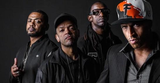 Legendary São Paulo based Hip Hop group Racionais MCs