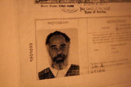 Nascimento's ID during his years as a professor at the University at Buffalo - The State University of New in the 1970s