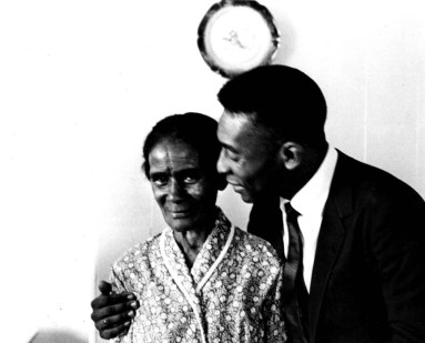 Pelé and grandmother Ambrosina