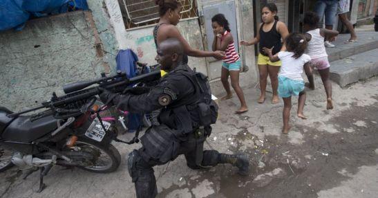 UPP occupied favela