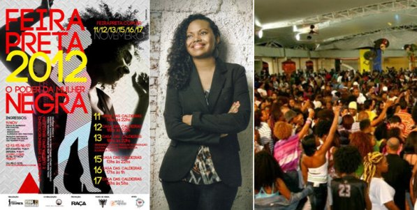 Adriana Barbosa, creator and founder of Feira Preta, the largest black cultural event in Latin America