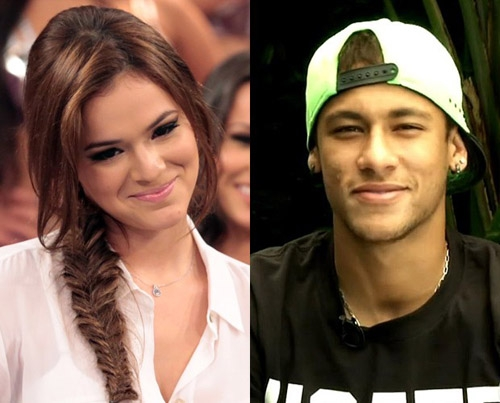 Neymar and actress Bruna Marquezine