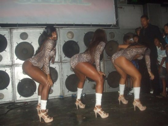 """Scene from a """"baile funk"""""""