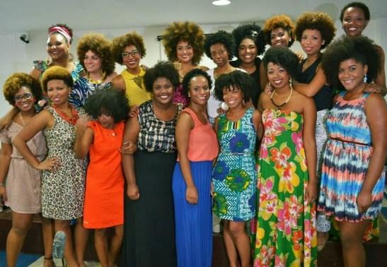 Women of the Meninas Black Power organization