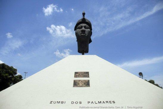 Zumbi monument in Rio de Janeiro