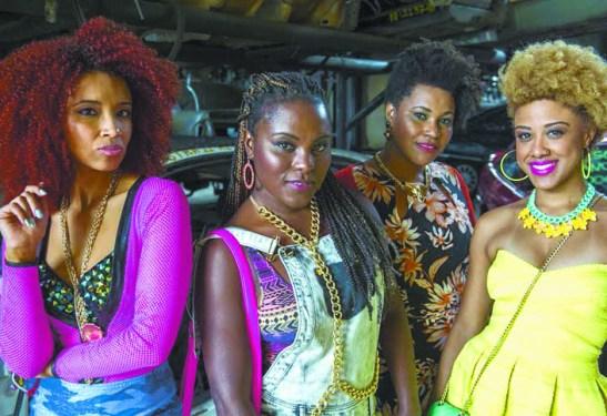 """The women of the Globo TV series """"Sexo e as negas"""""""