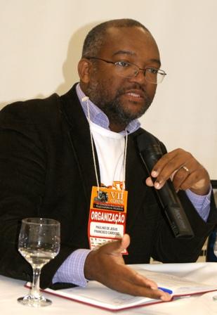 Paulino Cardoso, president of the Associação Brasileira de Pesquisadores Negros