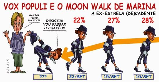 """Silva's backslide; or is it """"moonwalk""""?"""