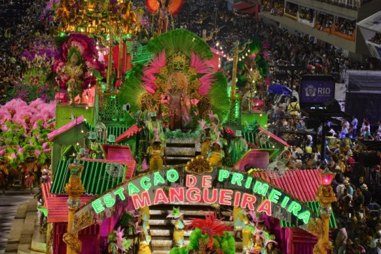 Mangueira is also home to one of Rio's most famous Samba schools