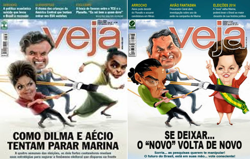 With Silva's slide it appears that Rousseff is in the driver's seat again