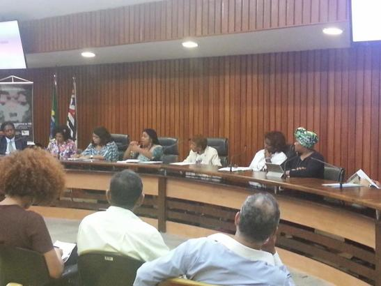 Public hearing on ALESP brought together leaders of the Movimento Negro to discuss media