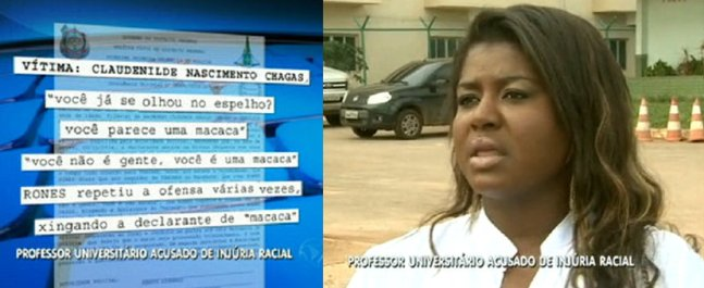 Professor do Instituto Federal de Brasília é preso após dizer que mulher parecia com uma macaca (capa)