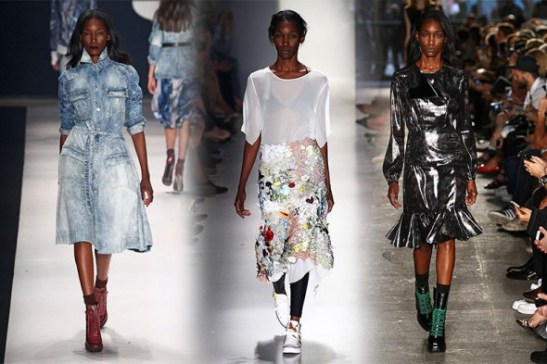 In action on the runway: TNG, Llas and Ellus