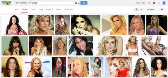 """Google image search with words """"Brazilian female hosts"""""""