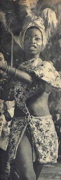 Marisa Marcelino de Almeida better known as 'Nega Pelé'