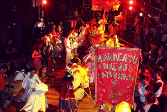 Maracatu with the Teatro Popular Solano Trindade (Photo: TPST)