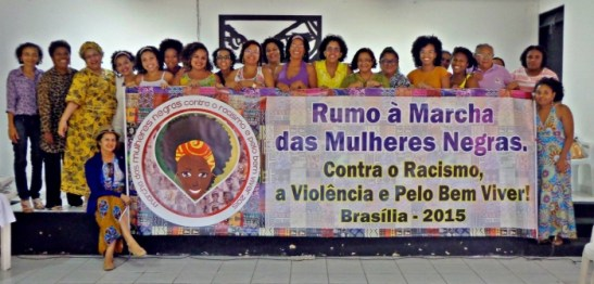 Women in the northeastern state of Paraíba continue organizing for Black Women's March 2015