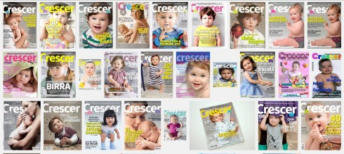 Google image search for covers of 'Crescer' magazine
