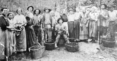 Italian immigrants in the city of Caxias do Sul, Rio Grande do Sul