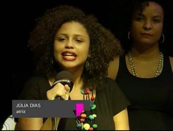 Actress Julia Dias