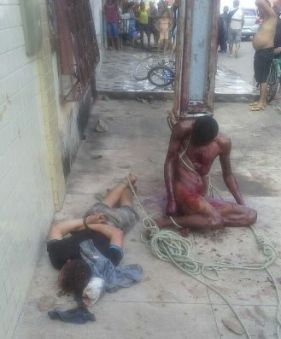 Cleidenilson Pereira Silva was lynched in São Luis, Maranhão at the side of another victim