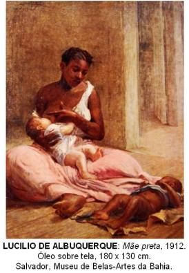 """Black mother"" (1912) by Lucilio de Albuquerque. Salvador, Museu-Artes da Bahia"