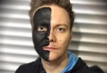 Michel Teló - blackface