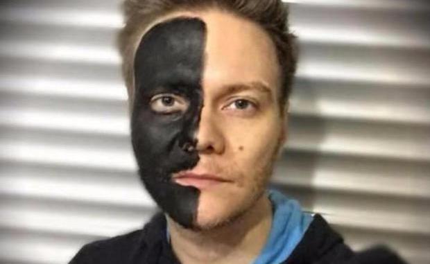 michel telc3b3 blackface