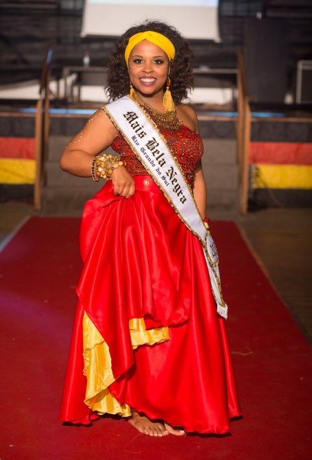 Márcia Regina Campos, 26, won the competition held on this Saturday night