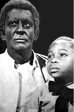 A Cabana do Pai Tomás, com Sérgio Cardoso e Dalmo Ferreira Minstrel Shows - rosto pintado de preto por uma pasta de carvão ou cortiça queimada