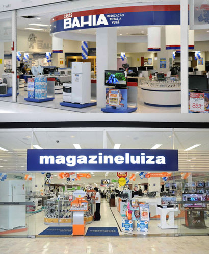 casas bahia - magazine luiza