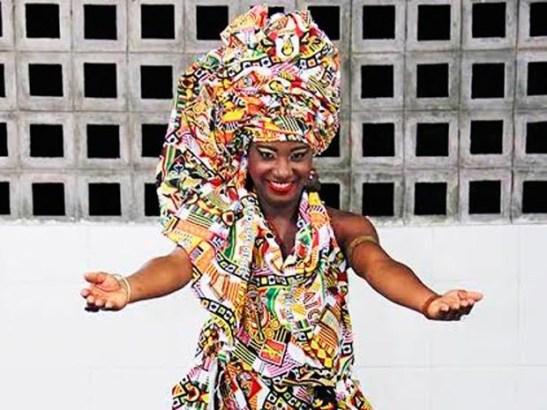 Larissa Oliveira, 22, elected Ebony Goddess of Ebony (Photo: M. Araujo Fafá)