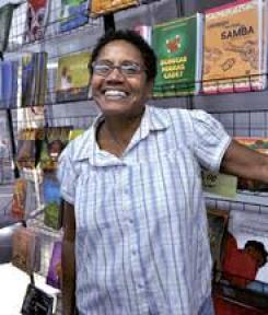 Maria Mazarello Rodrigues, fundadora da Mazza Edições