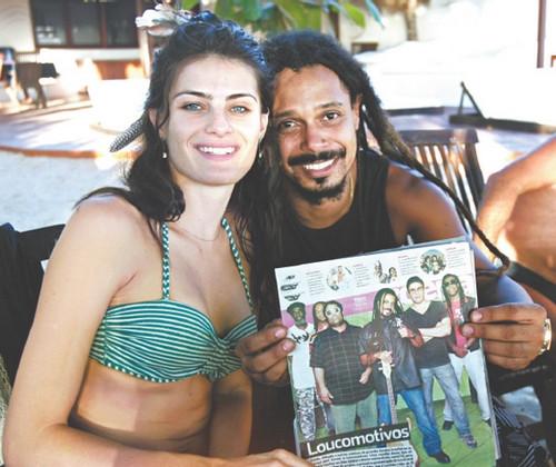 Isabeli Fontana e Marcelo Falcão
