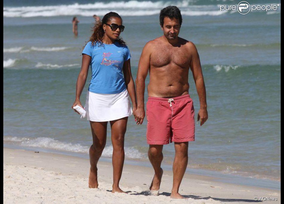 Quitéria Chagas e marido italiano Francesco Locati