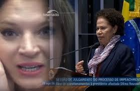 jornalista joice hasselmann ofende e discrimina social e racialmente senadora negra dentro do senado brasileiro 5