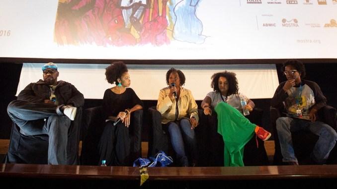 debate a voz do negro no cinema tem falas emocionadas e contundentes