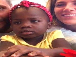 giovanna ewbank e bruno gagliasso adotaram garotinha africana linda de fofa