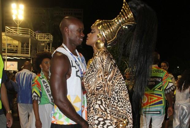 Cris Vianna e o namorado, Luiz Roque