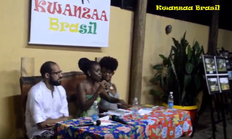 Coletivo Nação Black in the Casa de AngolaOsasco (Kwanzaa)