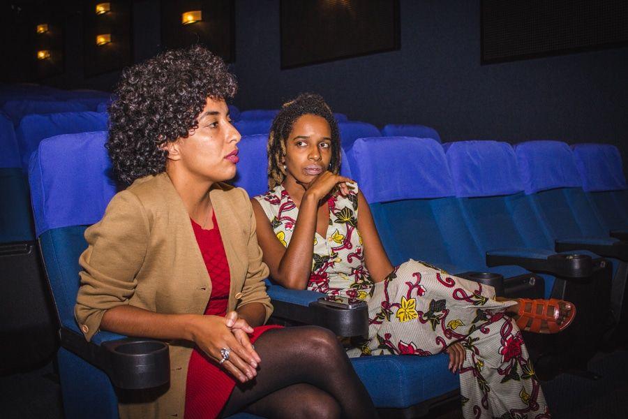 A produtora Mariani Ferreira e a diretora Camila de Moraes (Fotos - Joana Berwanger-Sul21) - Copy