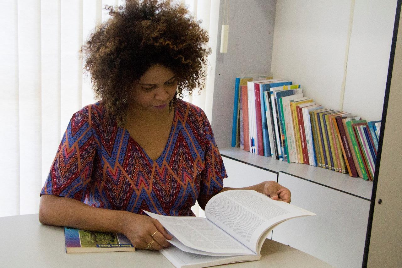 A pesquisadora Marjorie Nogueira Chaves