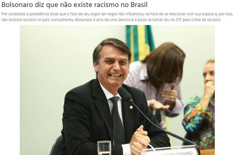 Bolsonaro says